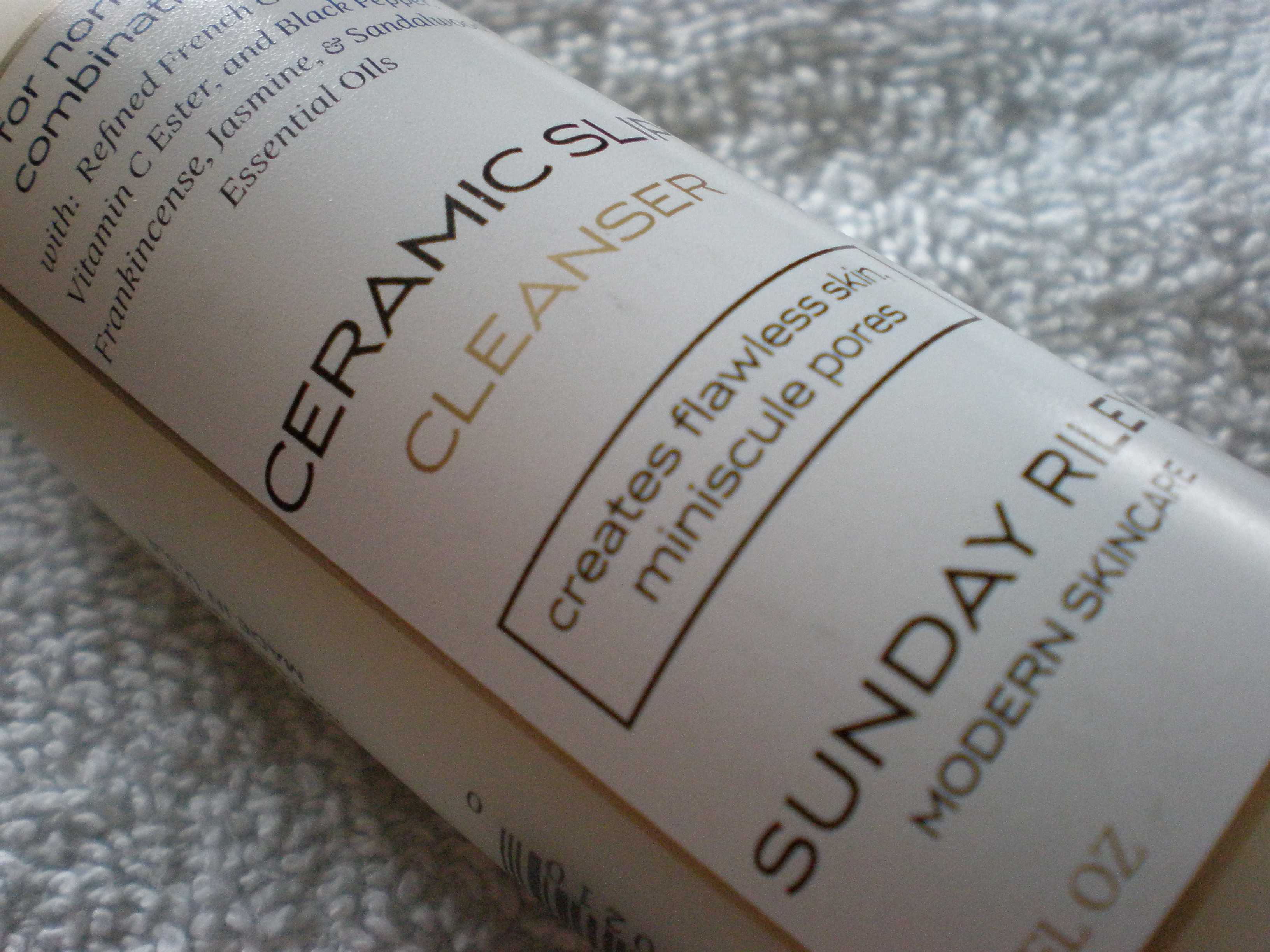 Sunday Riley Ceramic Slip Cleanser Review   The Beauty Idealist