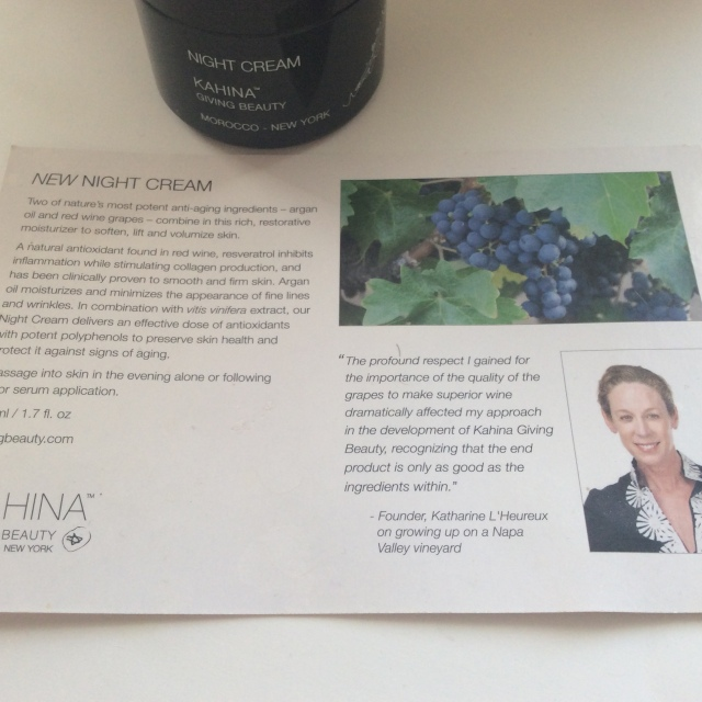 Kahina Night Cream